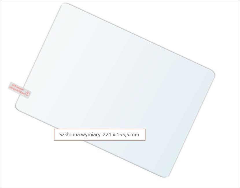 Dedykowane szkło hartowane (tempered glass) na tablet uniwersalne 9,6 cali