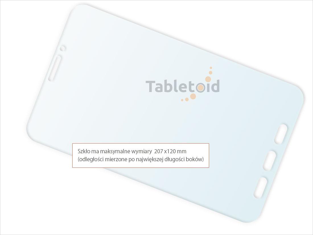 Szkło hartowane w dłoniach - Samsung Galaxy Tab Active 2 T395, T390 8 cali)
