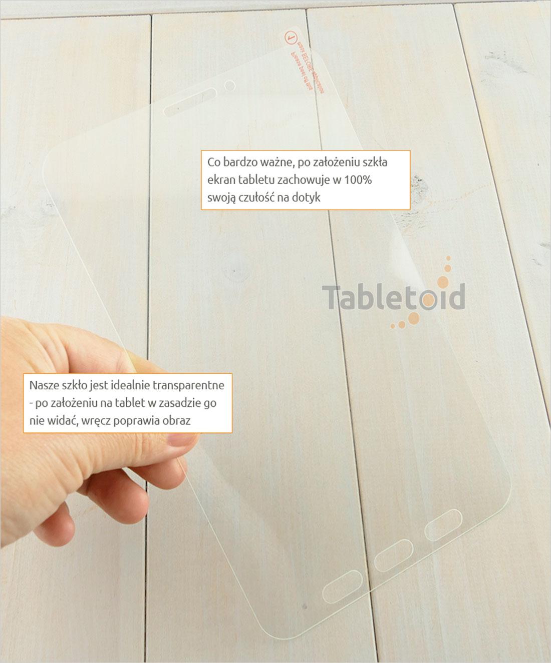 Dedykowane szkło hartowane (glass) na tablet   Samsung Galaxy Tab Active 2 T395, T390 8 cali)