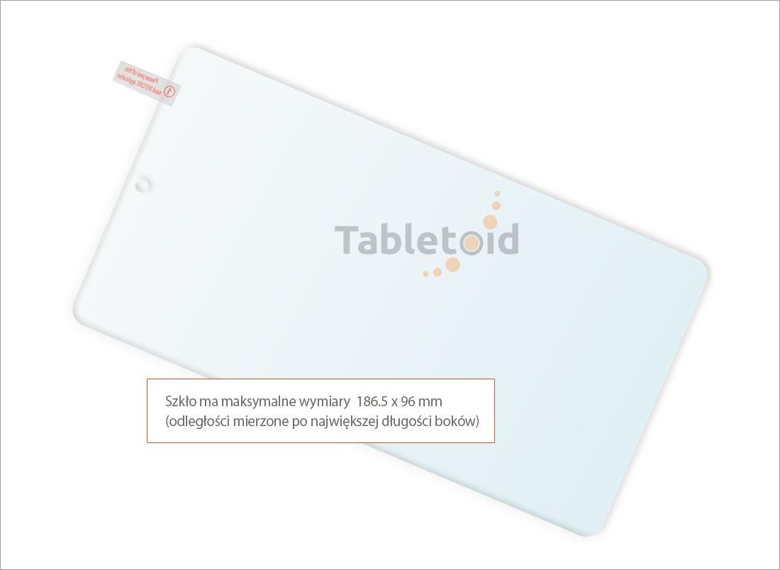 Dedykowane szkło hartowane (glass) na tablet Acer Iconia One 7 B1-790 (7 cali)
