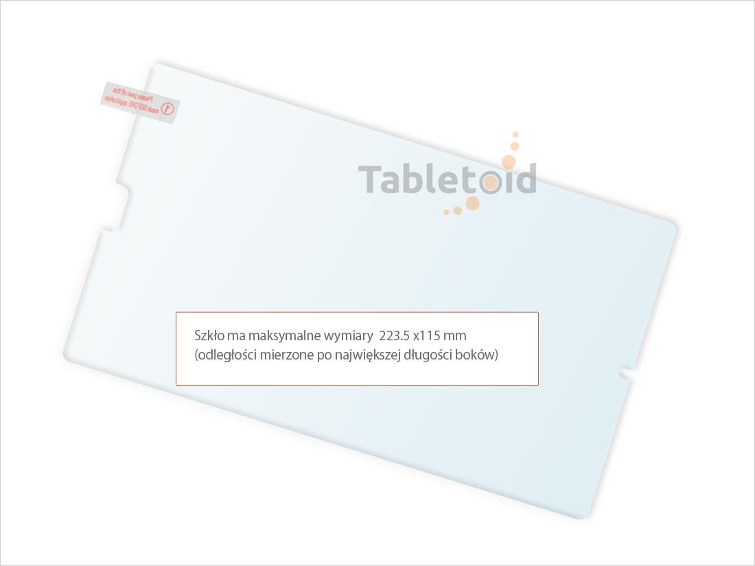 Dedykowane szkło hartowane (glass) na tablet   Huawei Mediapad M5 8.4 (8,4 cala)