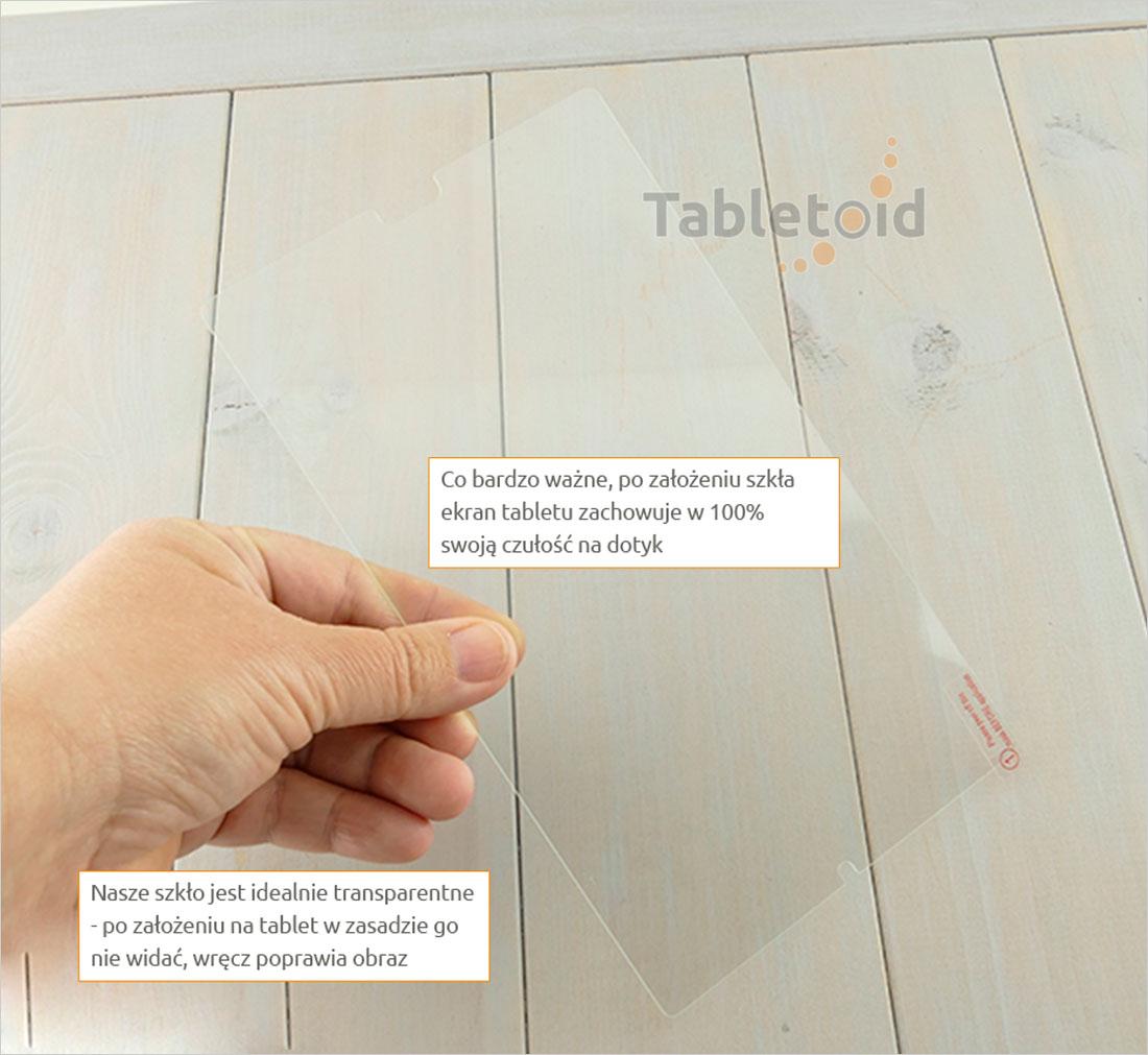 Szkło hartowane w dłoniach - Huawei Mediapad M5 8.4 (8,4 cala)