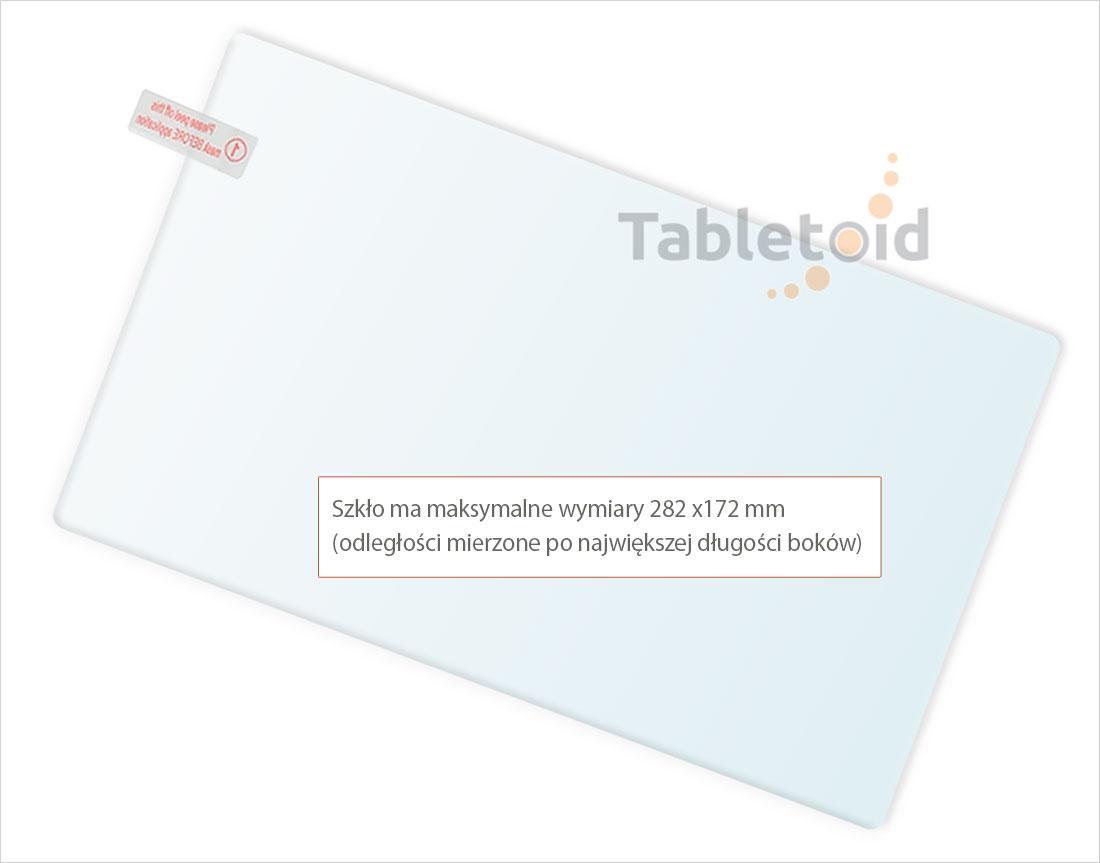 Dedykowane szkło hartowane (glass) na tablet  Cube KNOTE 11.6 (11,6 cala)
