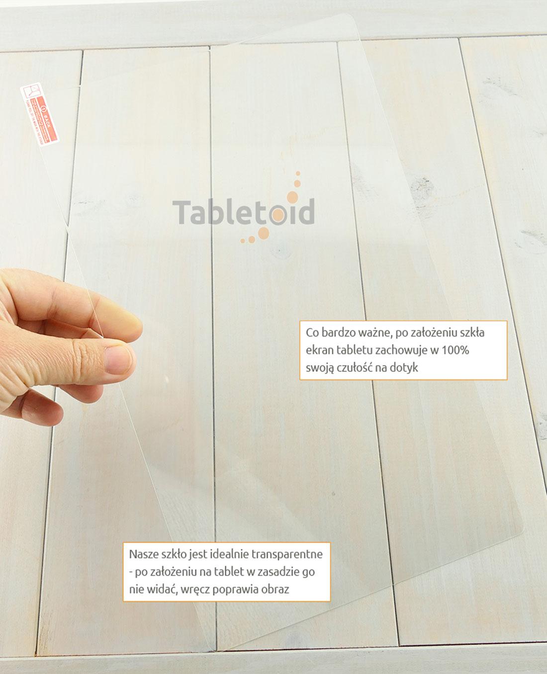 Szkło hartowane w dłoniach - Cube KNOTE 11.6 (11,6 cala)