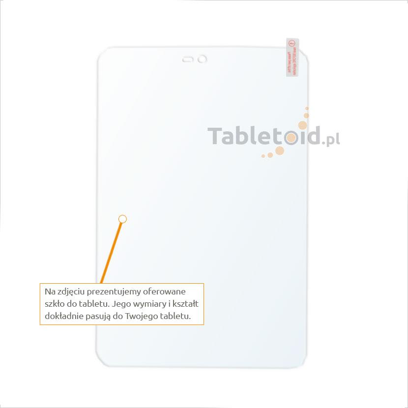 Dedykowane szkło hartowane (tempered glass) na tablet Xiaomi MiPad 2