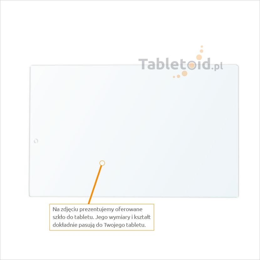 Dedykowane szkło hartowane (glass) na tablet Lenovo YOGA Tab 3 X50F
