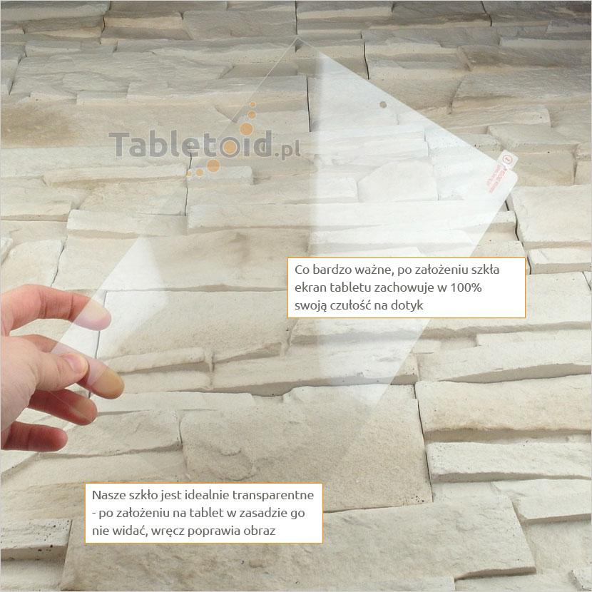 Szkło hartowane w rękach - Lenovo YOGA Tab 3 X50F