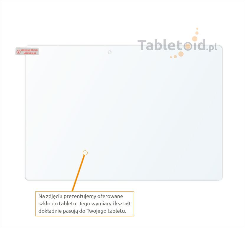 Dedykowane szkło hartowane (tempered glass) na tablet Lenovo Tab 2 A10-30