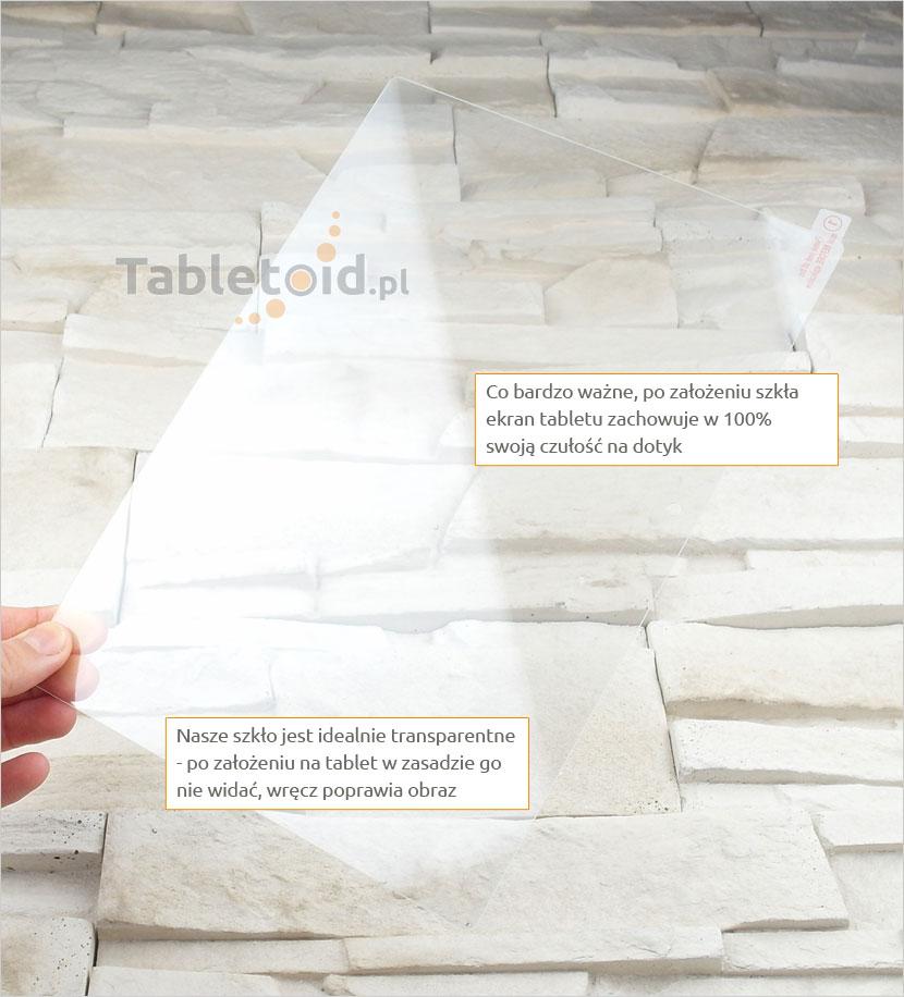 Szkło hartowane w dłoniach - Lenovo Tab 2 A10-30