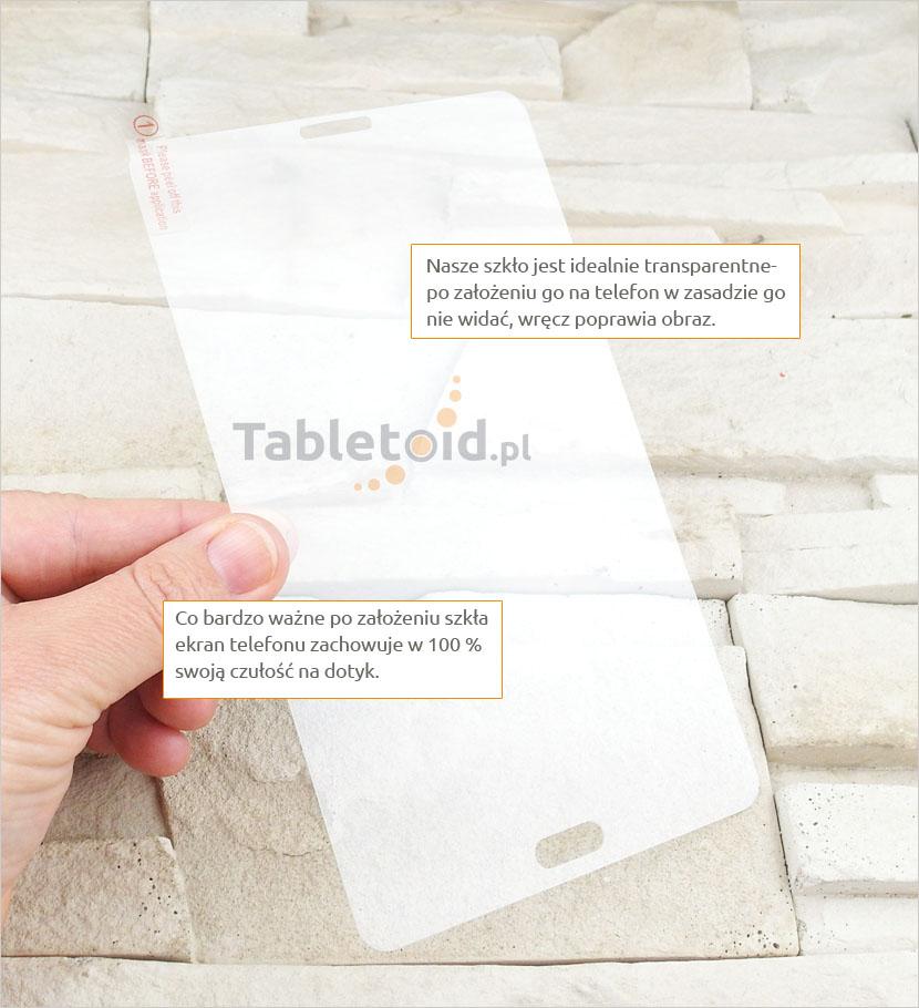 Szkło hartowane w dłoniach Samsung Galaxy Tab A 7.0