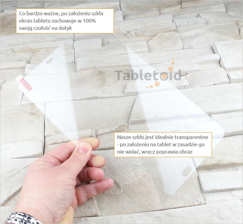 szkło hartowane do tabletu samsung galaxy tab a6