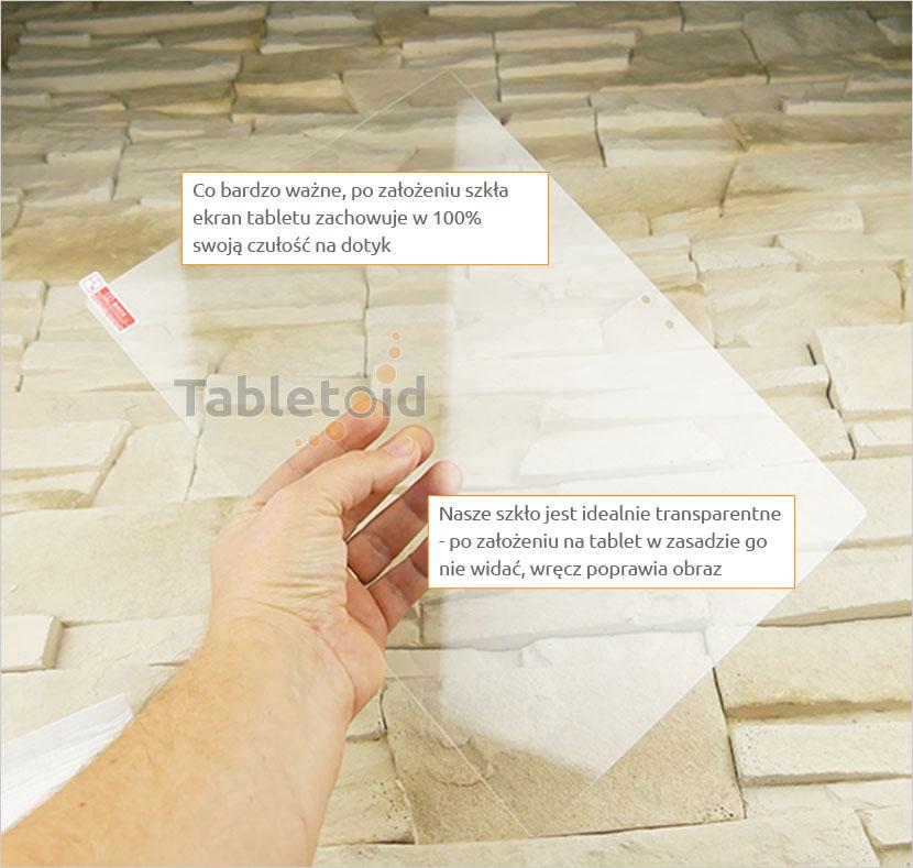 Szkło hartowane w rękach - Lenovo Ideapad Miix 700