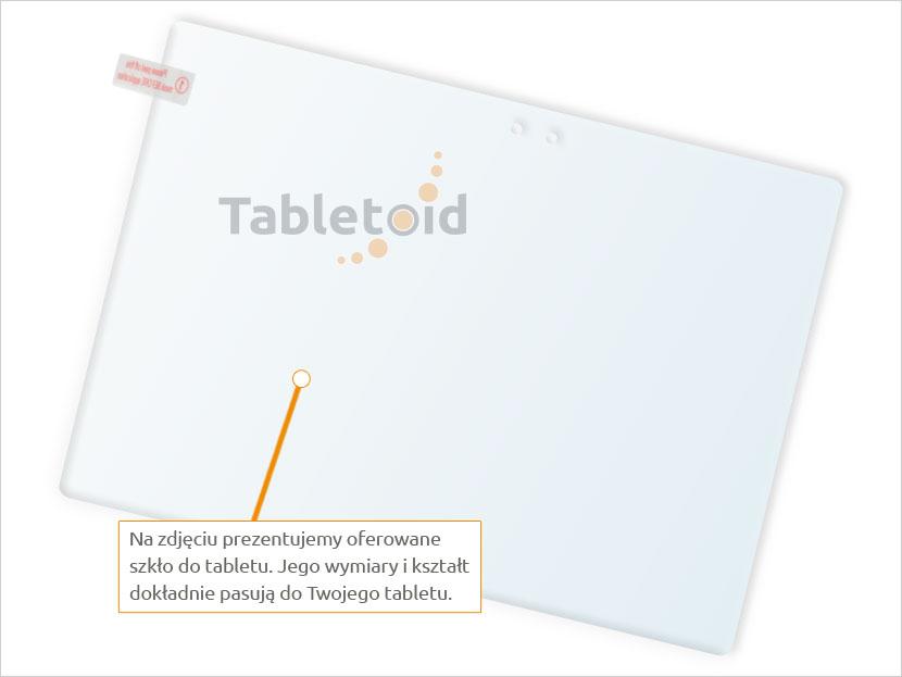 Dedykowane szkło hartowane (tempered glass) na tablet Lenovo Ideapad Miix 700
