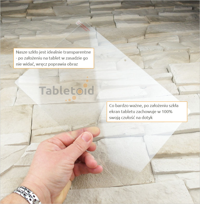 szkło hartowane na tablet lenovo-a7600-2