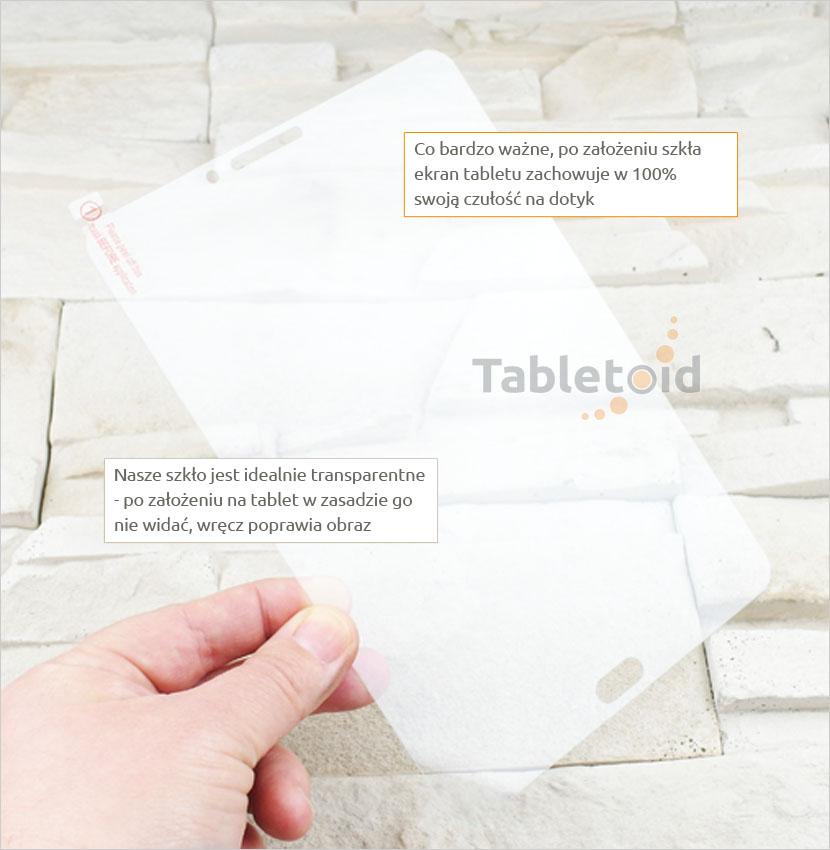 szkło hartowane w ręku Samsung Galaxy Tab S3 8.0