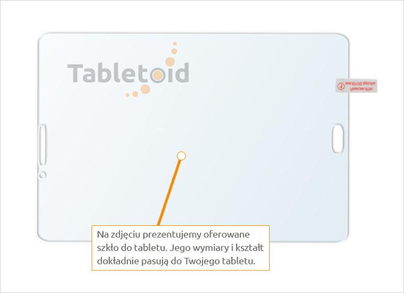 szkła na tablet Samsung GalaxyTab S3 8.0