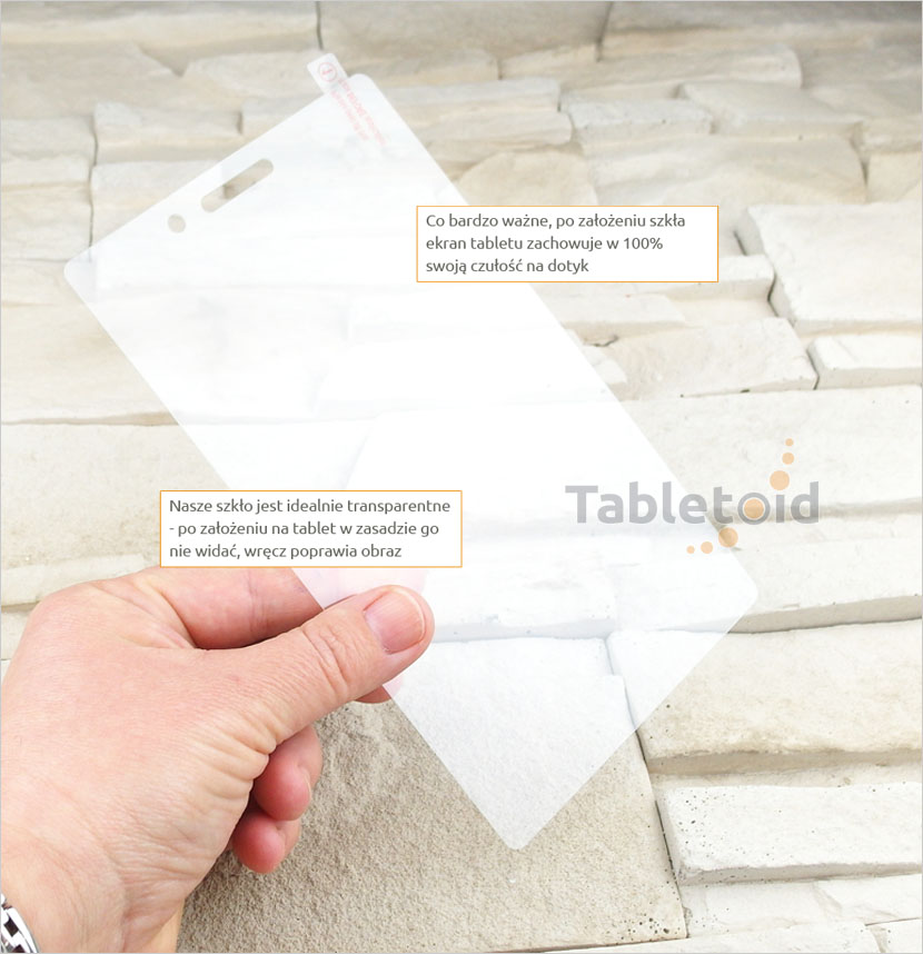 Szkło hartowane do tabletu  Lenovo Tab 3 Essential, Basic 7 cali 710F, 710I
