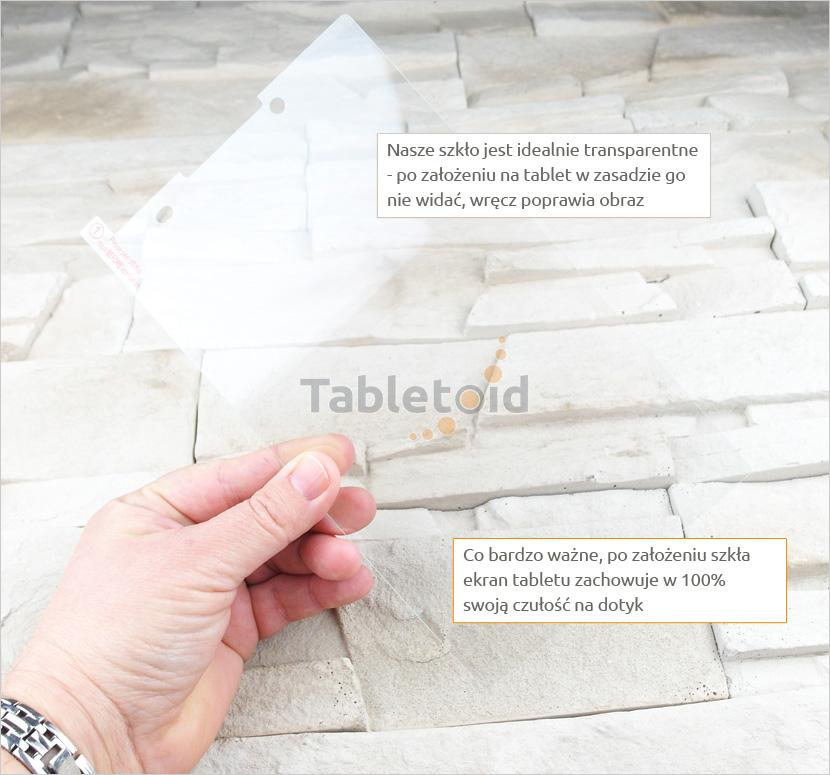 Szkło hartowane w rękach Lenovo Tab 3 TB3-850M / TB3-850F