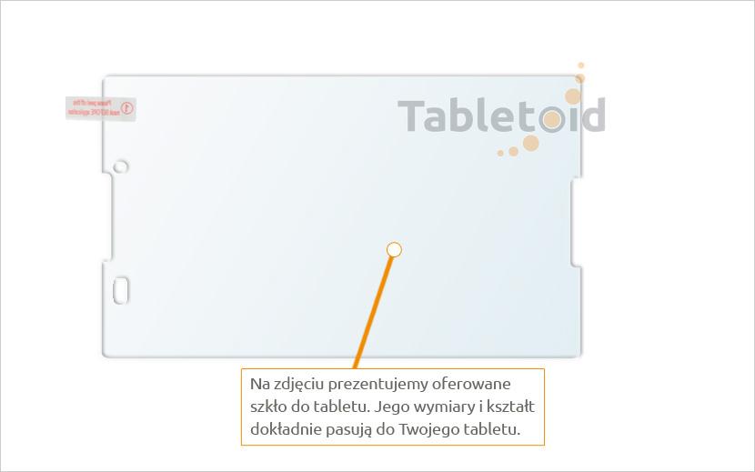 Szkła hartowane tablet Lenovo Tab 3 TB3-850M / TB3-850F