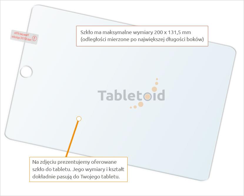 Dedykowane szkło hartowane (glass) na tablet Apple iPad mini 5