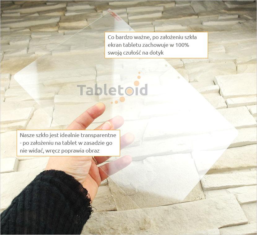 Szkło hartowane w ręku  Samsung GALAXY BOOK 12.9
