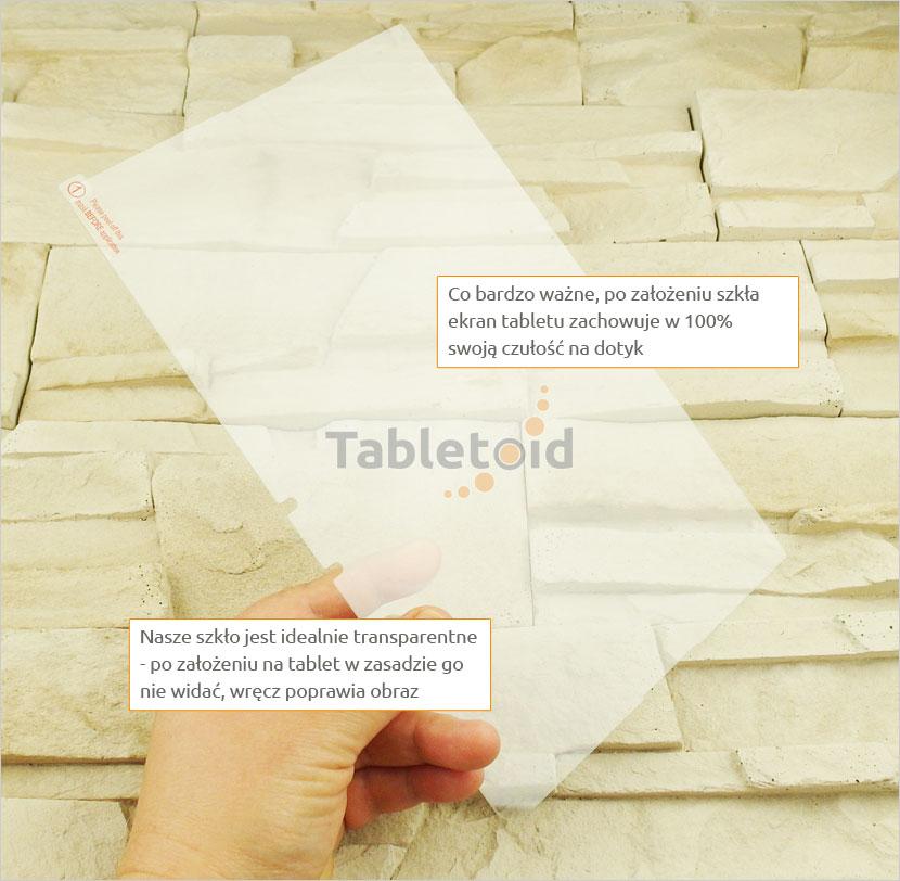 Szkło hartowane w ręku LG GPad 3 10.1 V755
