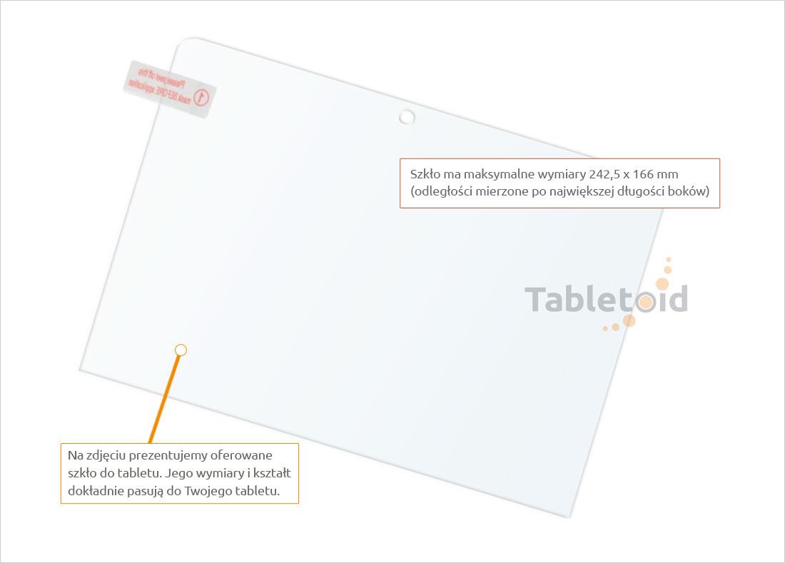 Dedykowane szkło hartowane. tempered glass
