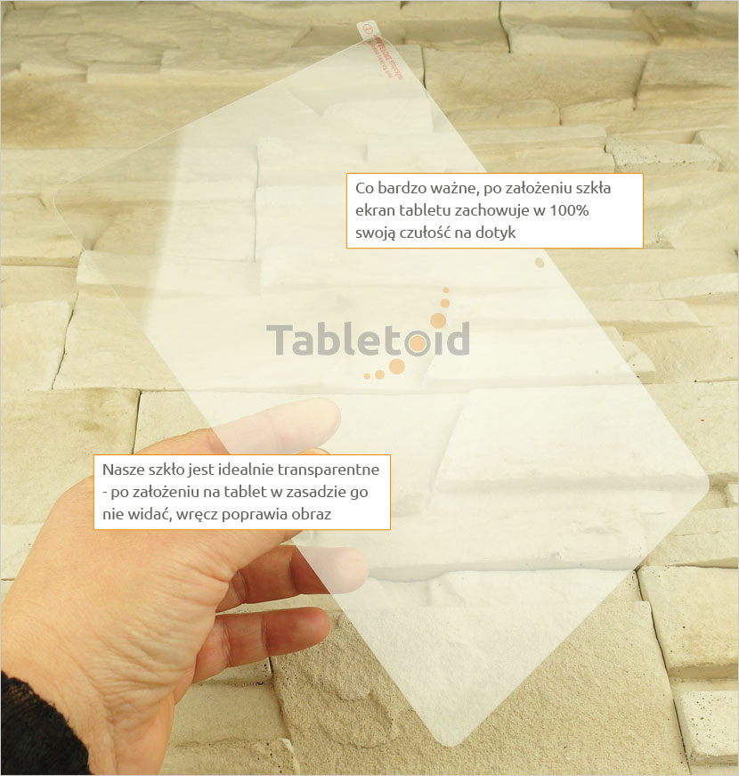 Szkło hartowane w ręku  Huawei MediaPad T3 10 AGS-L09 AGS-L03 9.6 cala