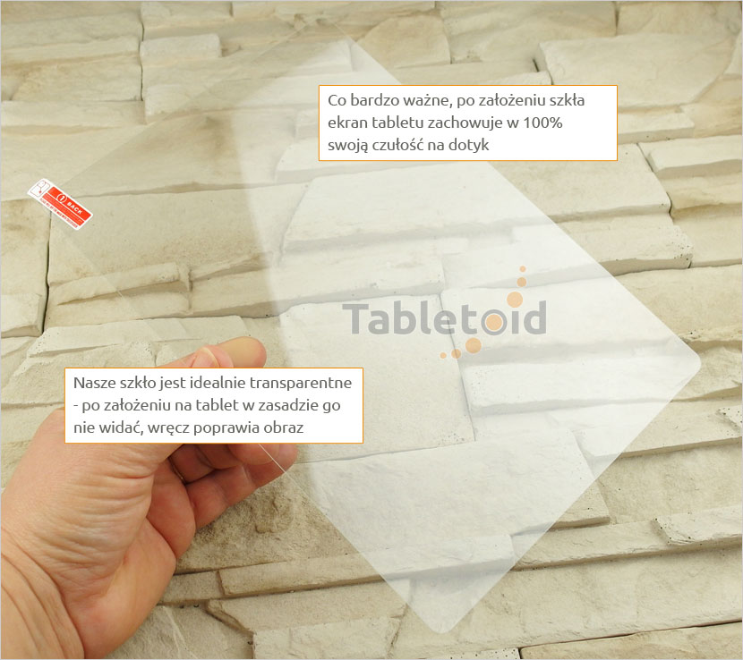 Szkło hartowane do tabletu Teclast 98 octa core / X10 quad core