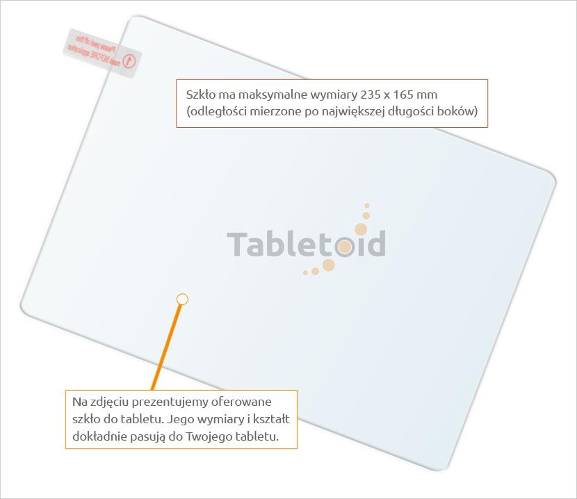 szkło na tablet Teclast 98 octa core / X10 quad core