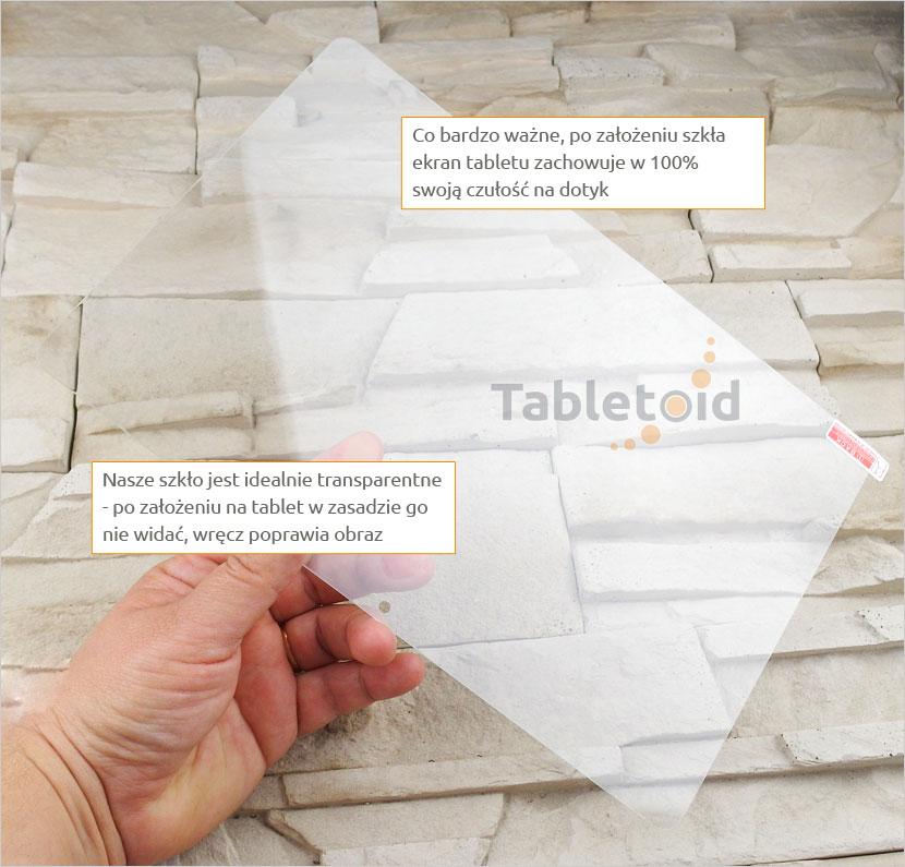 Szkło hartowane w dłoniach Chuwi Hi10 plus 10.8 cala
