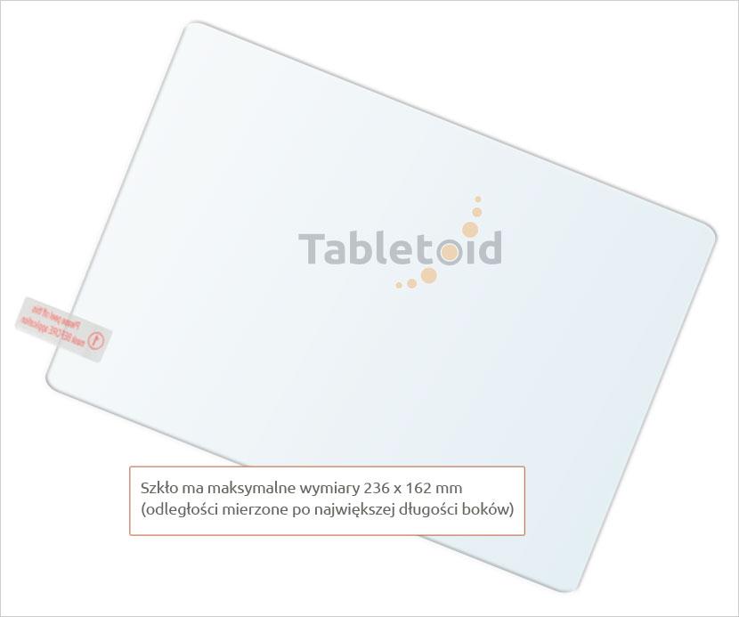 szkła na tablet Cube T12