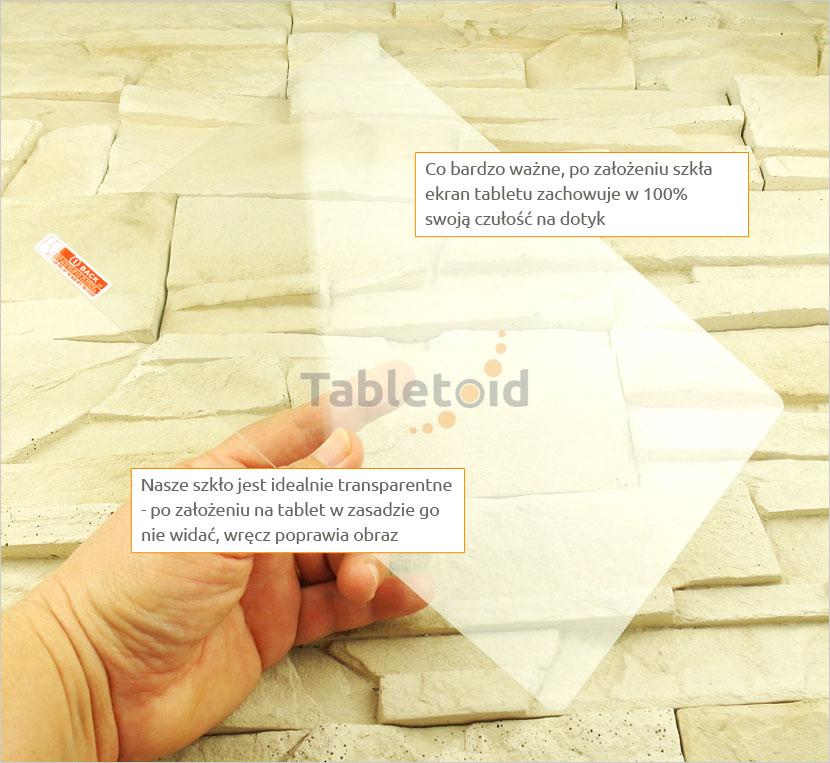 szkło hartowane w ręku Cube T12