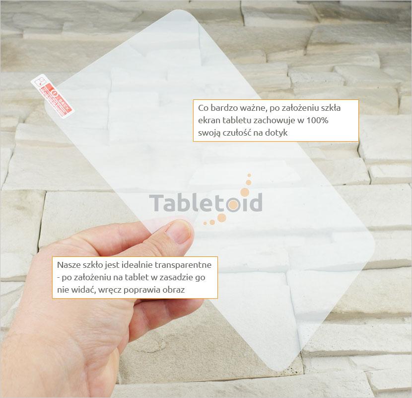 Szkło hartowane w rękach - uniwersalne 9 cali