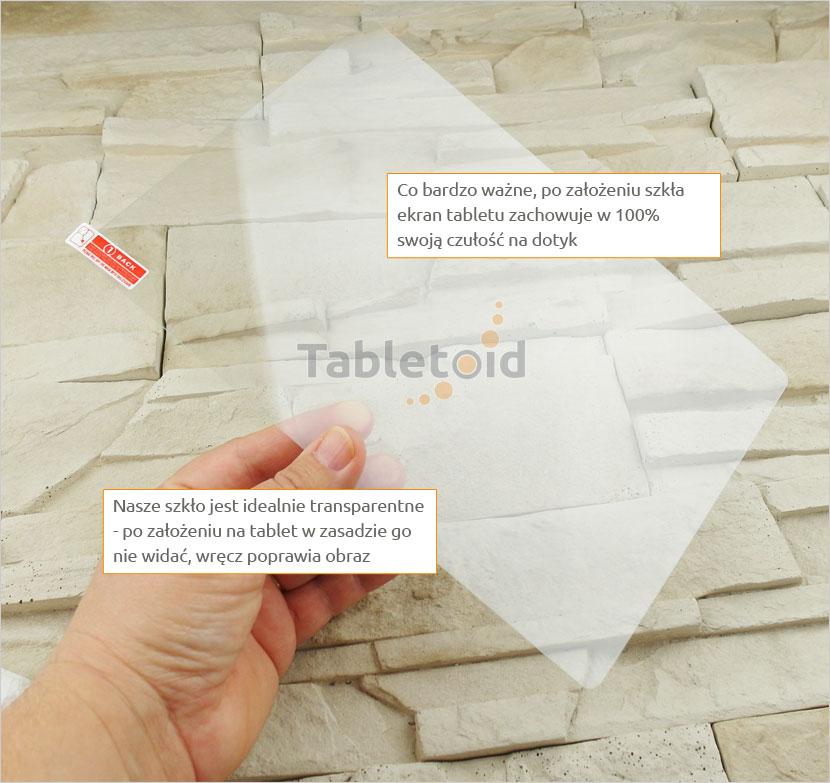 Szkło hartowane w rękach -Hykker myTab 10 Biedronka