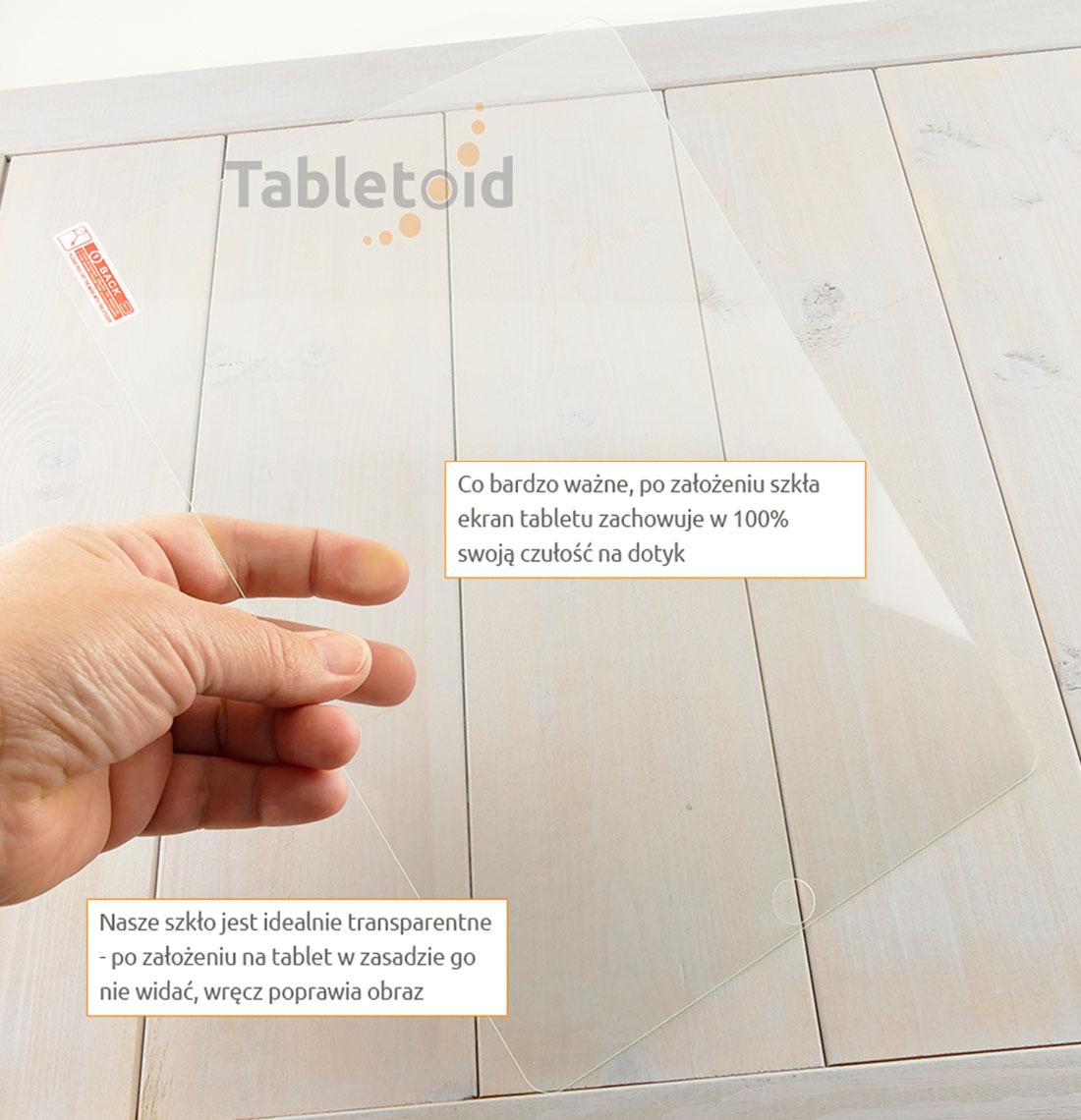 Szkło hartowane w dłoniach - Apple New iPad Pro 10.5 cala (2017)