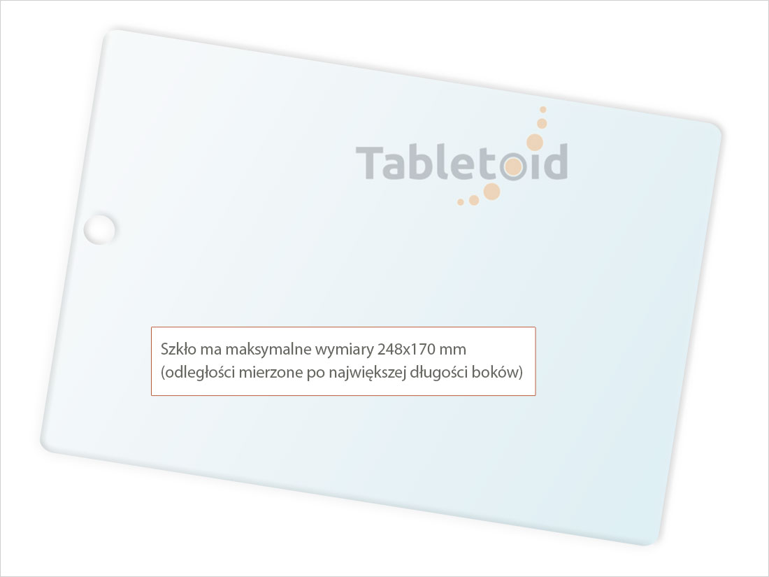 Dedykowane szkło hartowane (glass) na tablet  Apple New iPad Pro 10.5 cala (2017)
