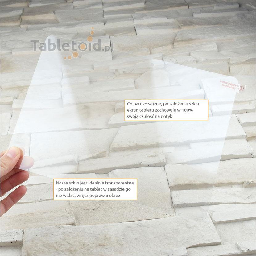Szkło hartowane w dłoniach - Huawei MediaPad M2