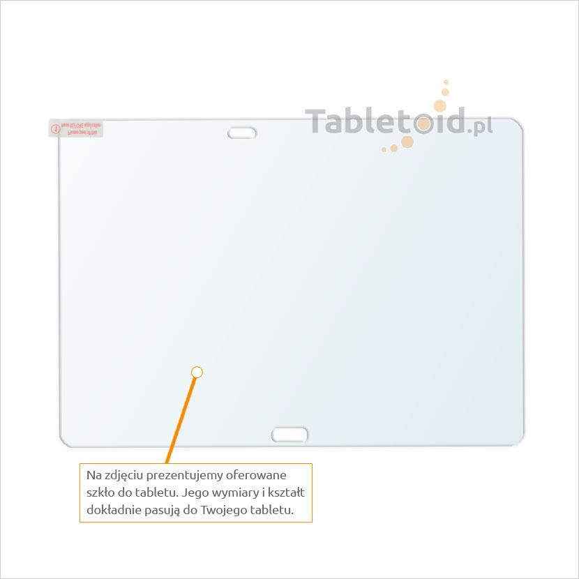 Dedykowane szkło hartowane (tempered glass) na tablet Samsung GALAXY Tab PRO 10.1