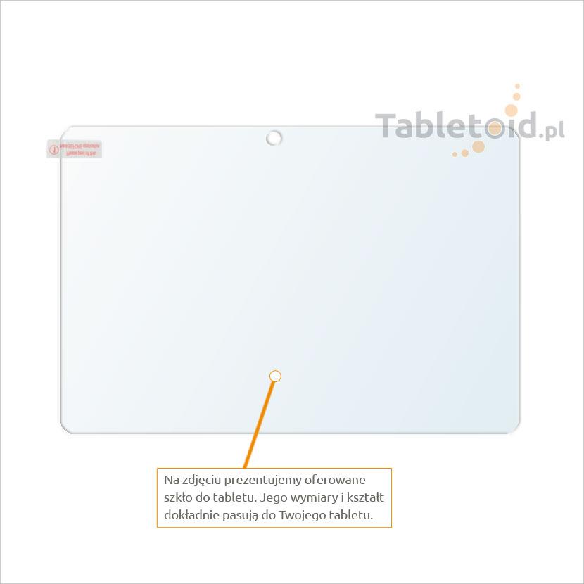Dedykowane szkło hartowane (tempered glass) na tablet Acer Iconia Tab A3-A20