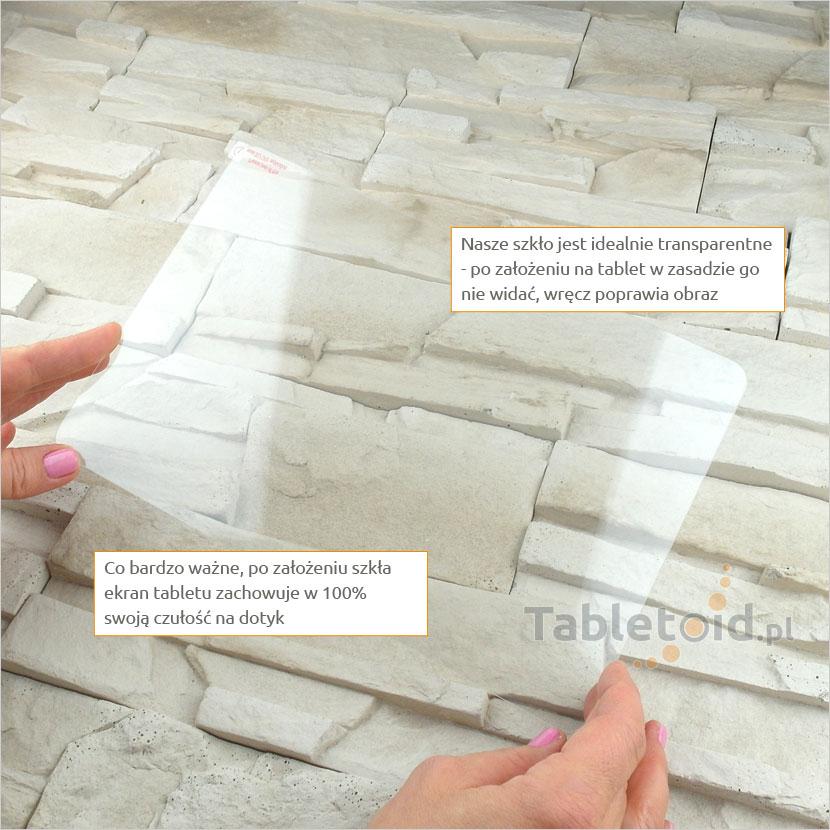 Szkło hartowane w dłoniach - Acer Iconia Tab A3-A20