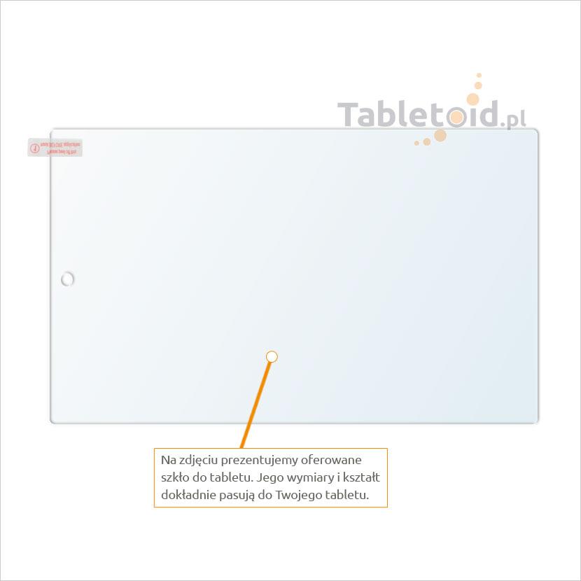 Dedykowane szkło hartowane (tempered glass) na tablet Amazon Kindle Fire HD 10 2015