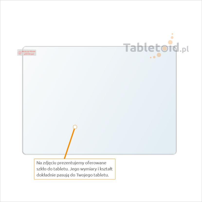 Dedykowane szkło hartowane (tempered glass) na tablet Amazon voyage 6.0
