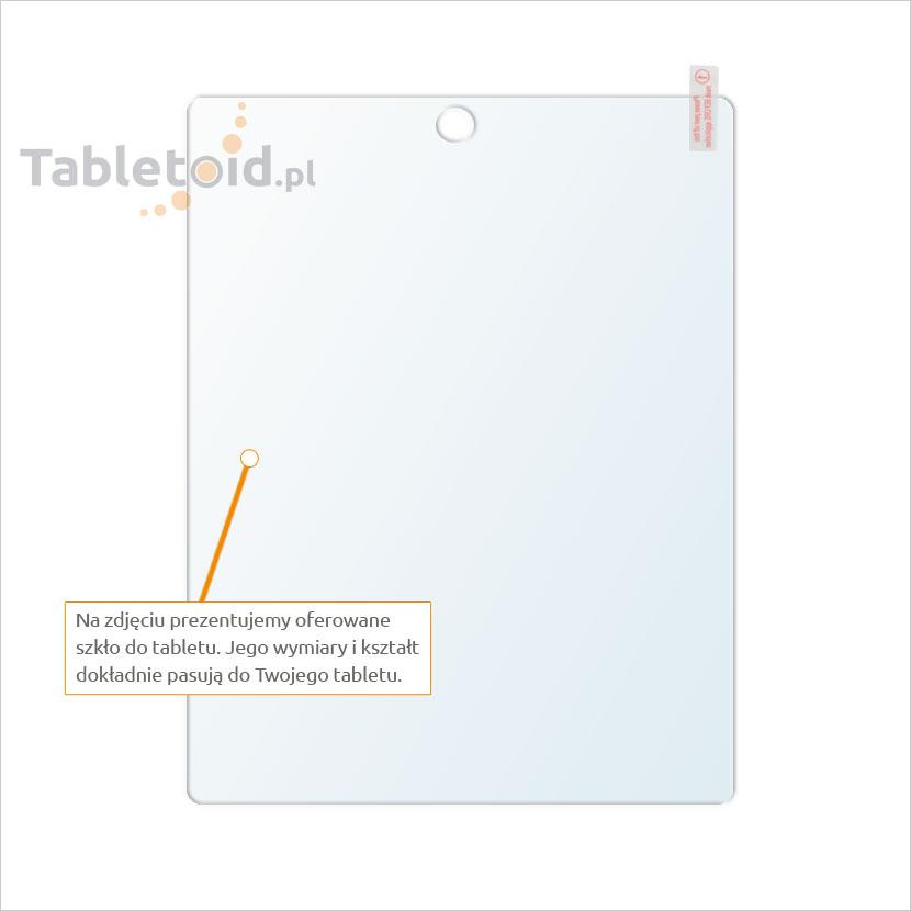 Dedykowane szkło hartowane (tempered glass) na tablet Apple iPad 2