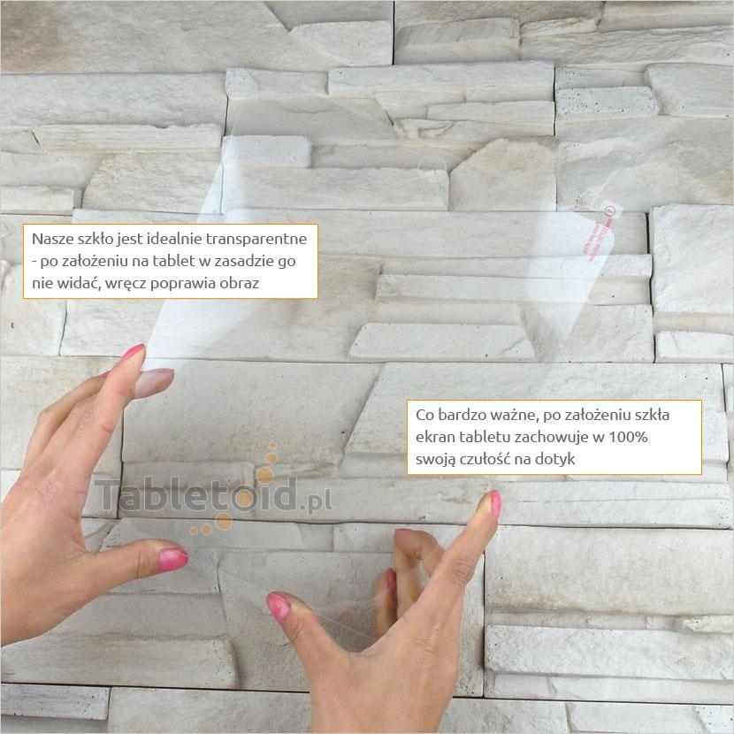 Szkło hartowane w dłoniach - Apple iPad 2