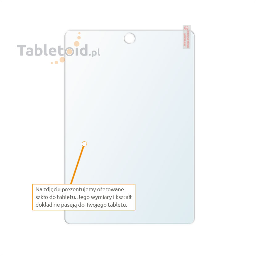 Dedykowane szkło hartowane (glass) na tablet Apple iPad mini 2