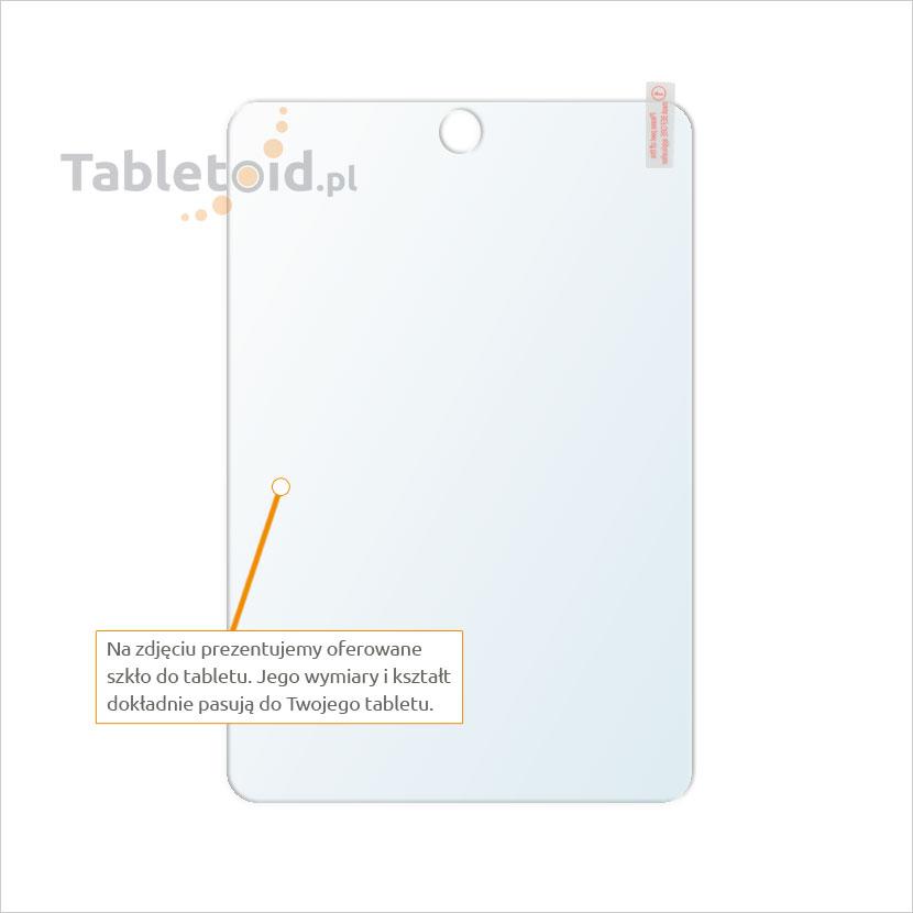 Dedykowane szkło hartowane (glass) na tablet Apple iPad mini 4