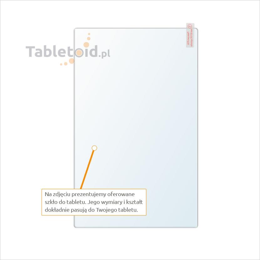 Dedykowane szkło hartowane (glass) na tablet Dell Venue 8 7000