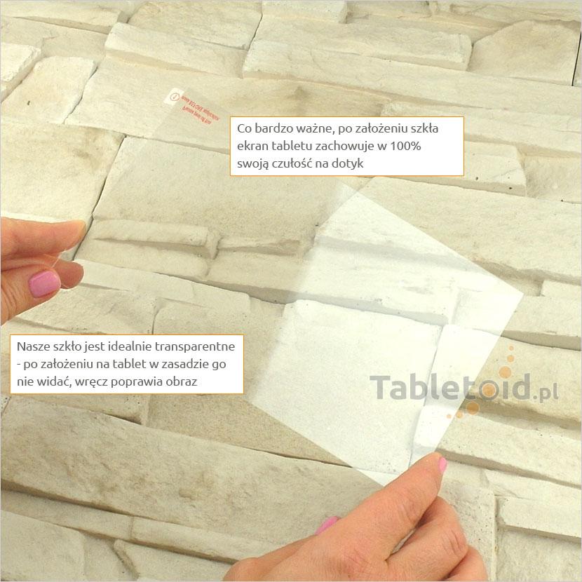Szkło hartowane w dłoniach - Dell Venue 8 7000