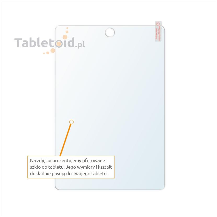 Dedykowane szkło hartowane (glass) na tablet FunTab Fun Tab 8